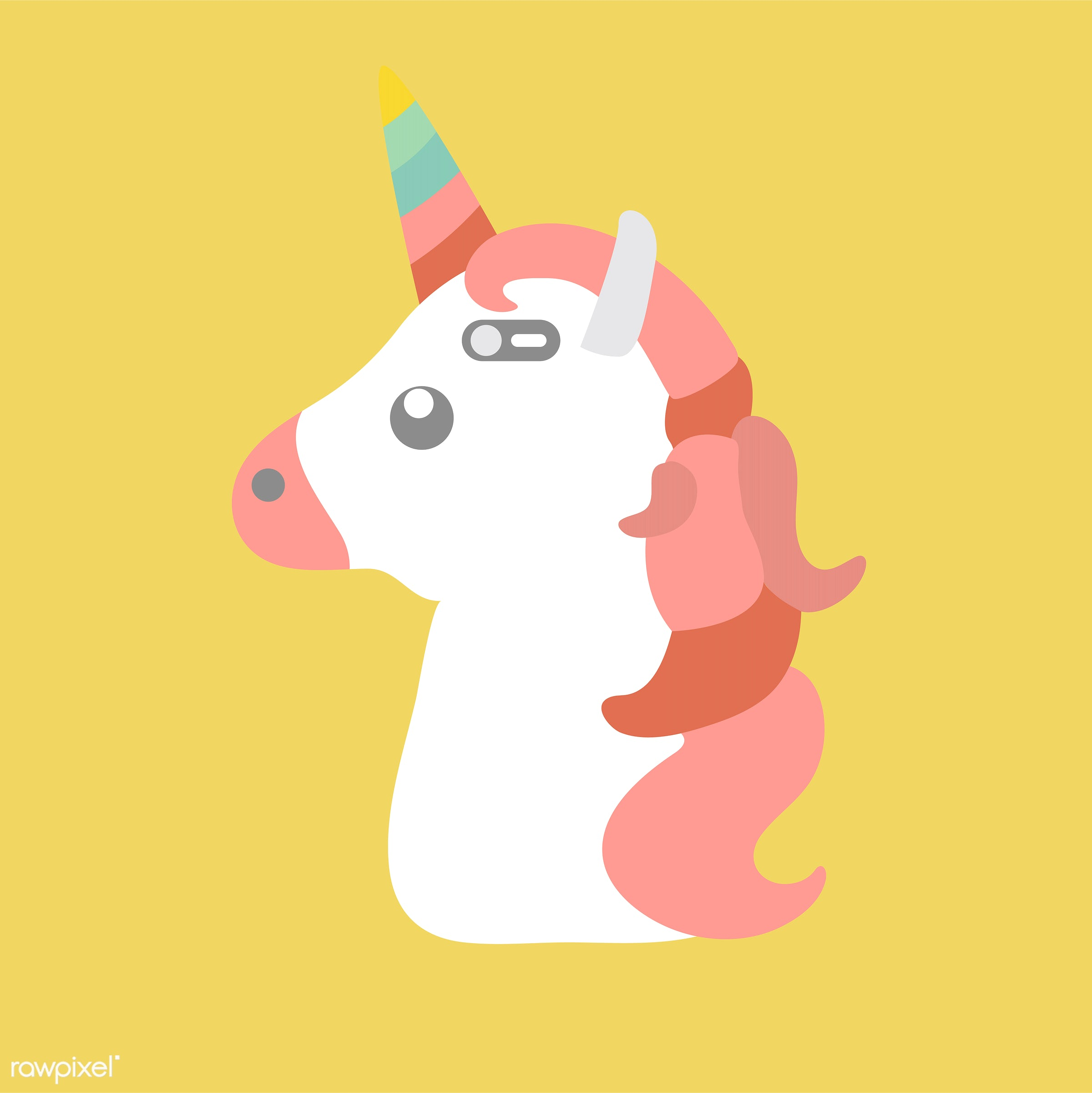 vector, illustration, graphic, cute, sweet, girly, pastel, unicorn, creature, animal