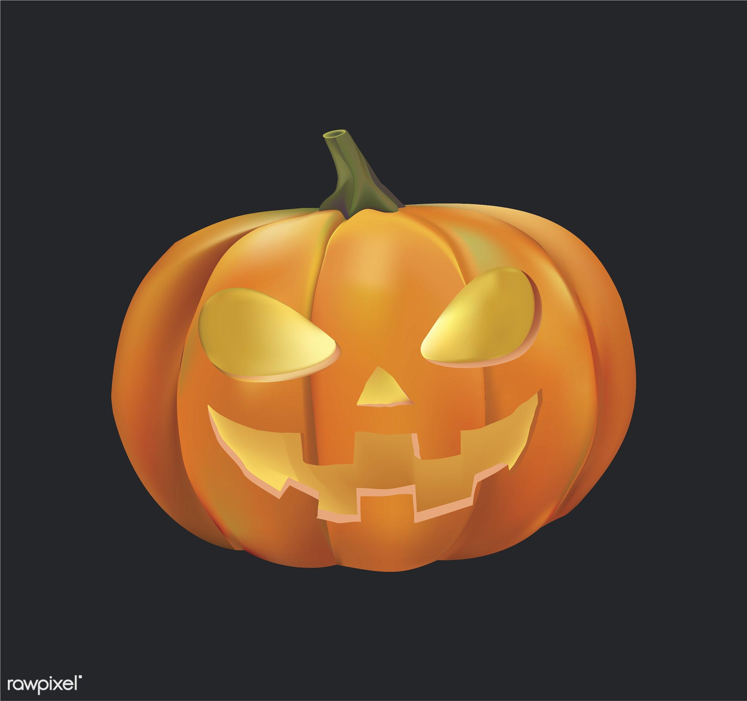 Halloween vector set - autumn, celebration, creepy, design, fall, festival, ghost, graphic, halloween, holiday, icon,...