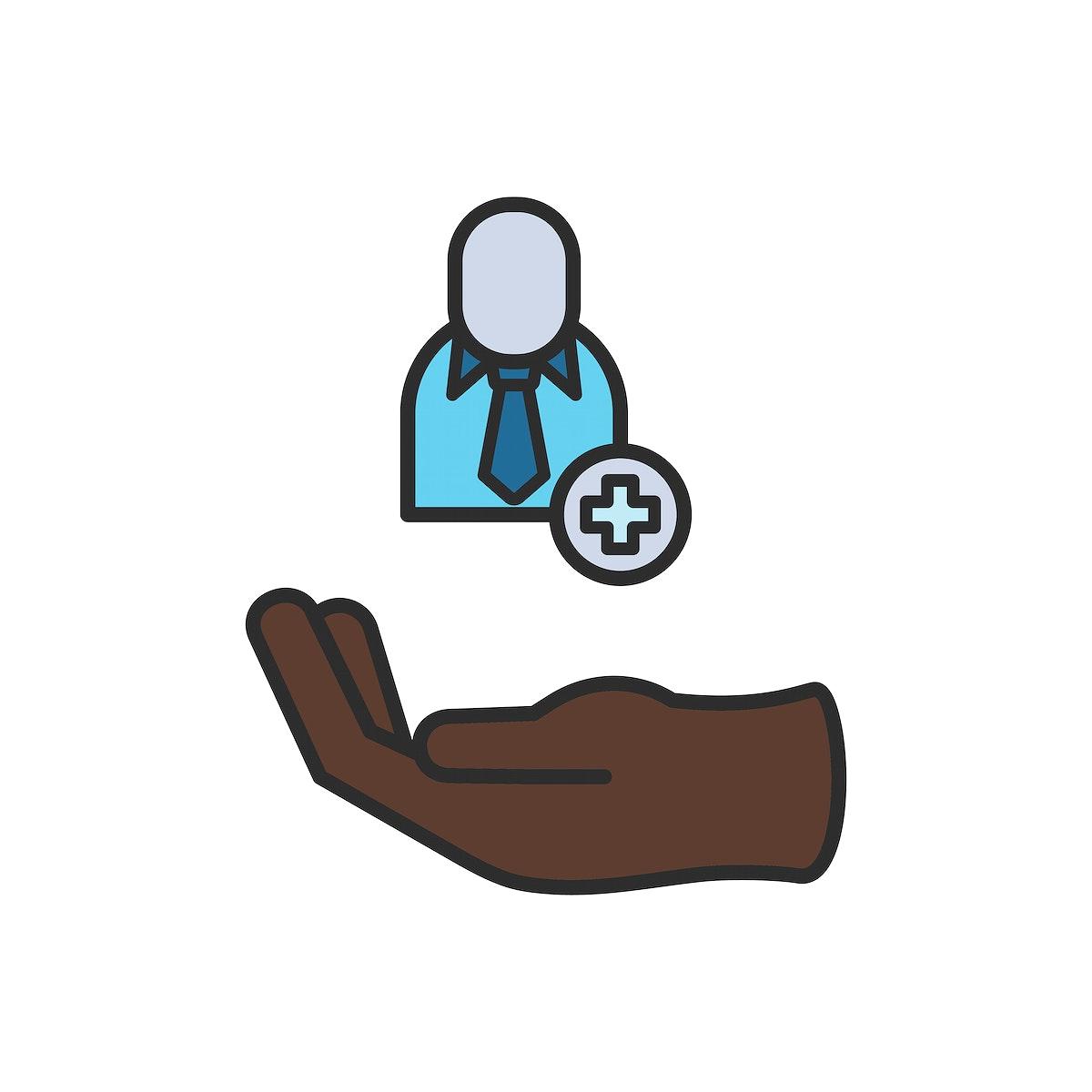 Illustration of business icon