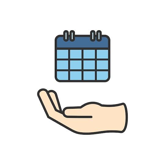 Illustration of calendar icon