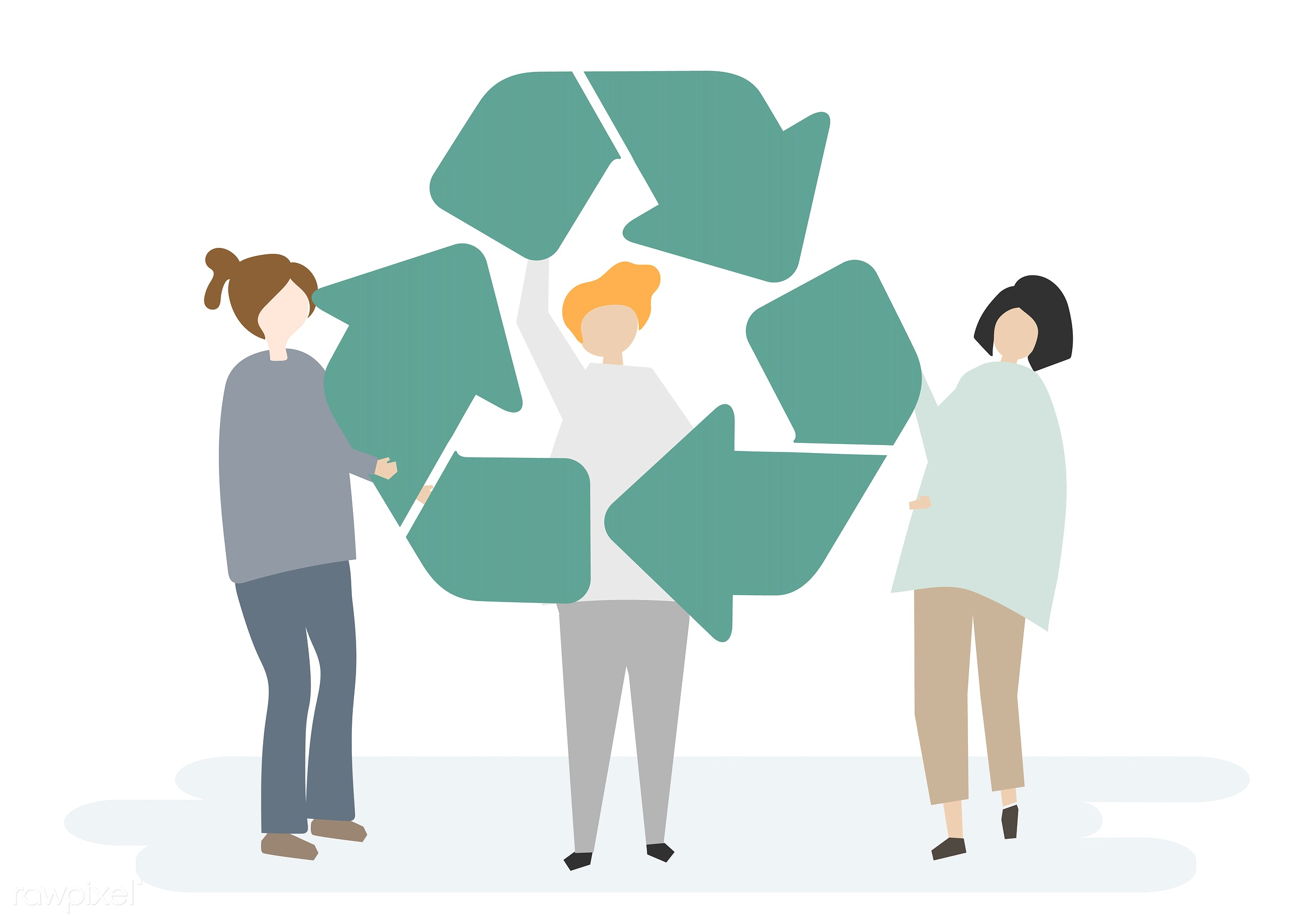 Environmental Conservation And The Recycling Symbol Id 405819