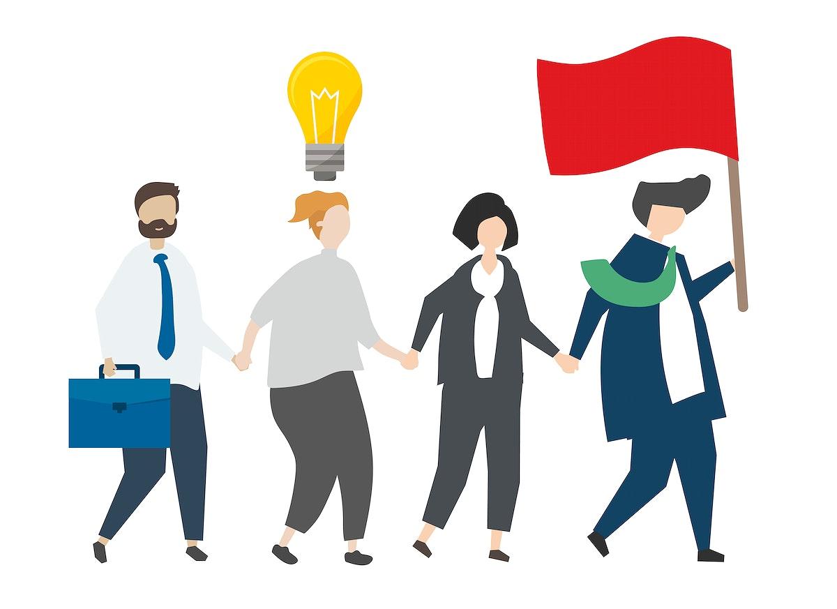 Business leadership in corporate organization
