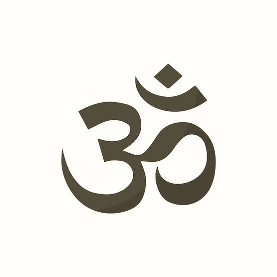 Illustraition Of The Indian Om Symbol Id 412529