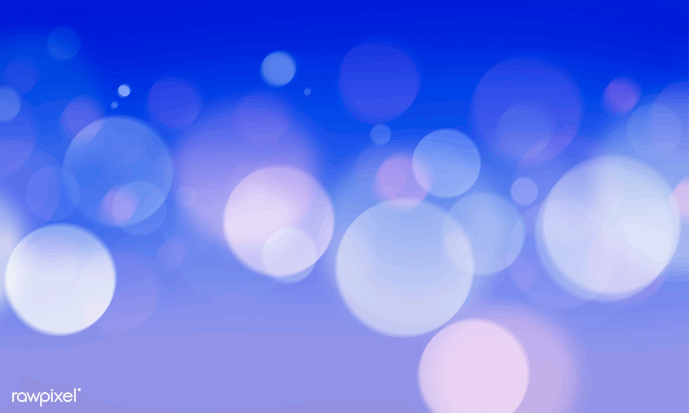 Abstract Bokeh Blurred Lights Wallpaper Free Stock Vector