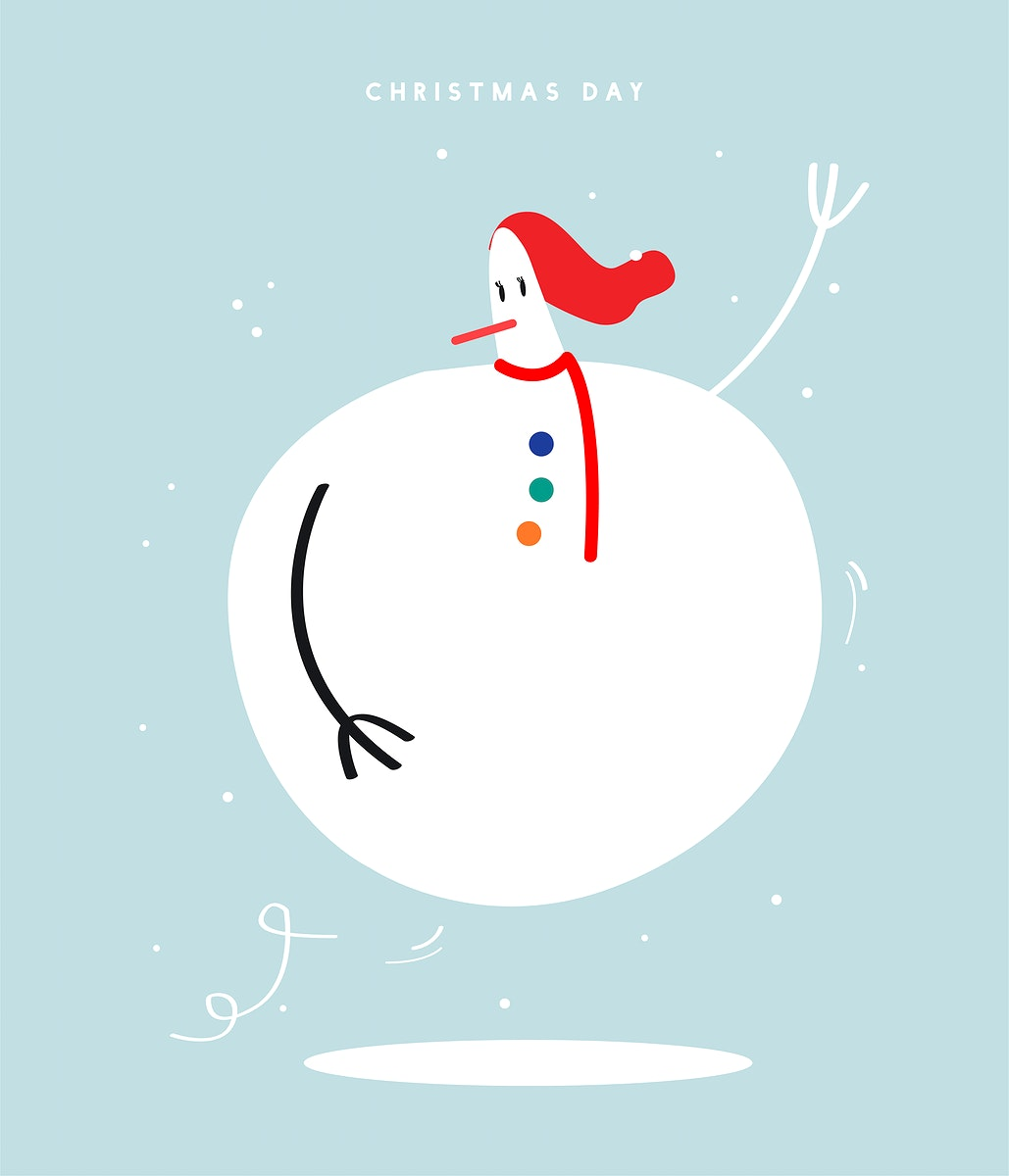 Merry Christmas day concept illustration