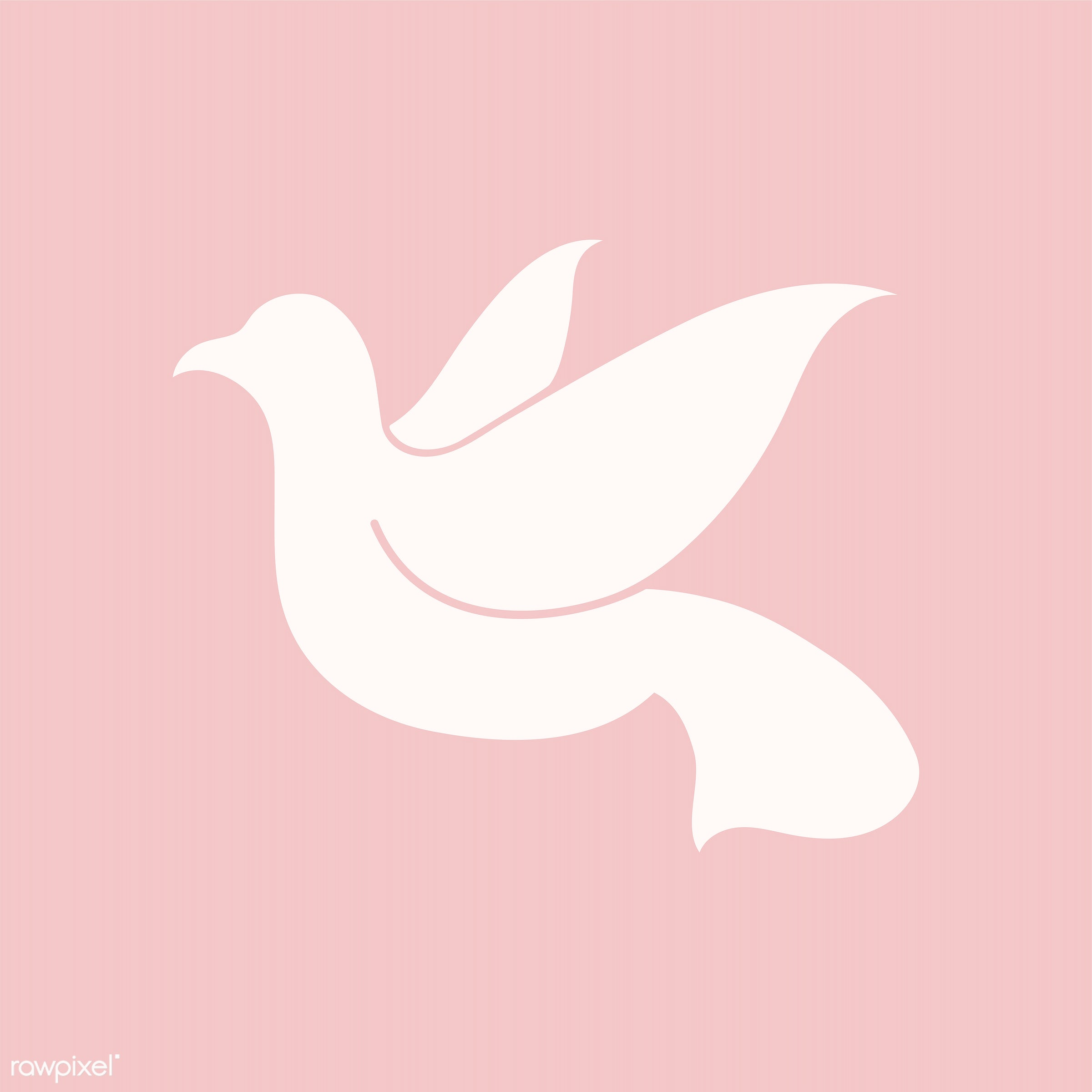 Dove symbol of peace illustration - ID: 444708