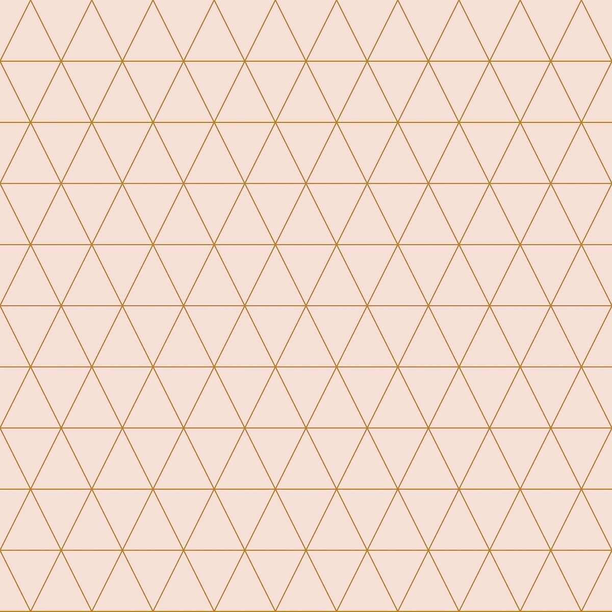Simple triangular pattern vector illustration