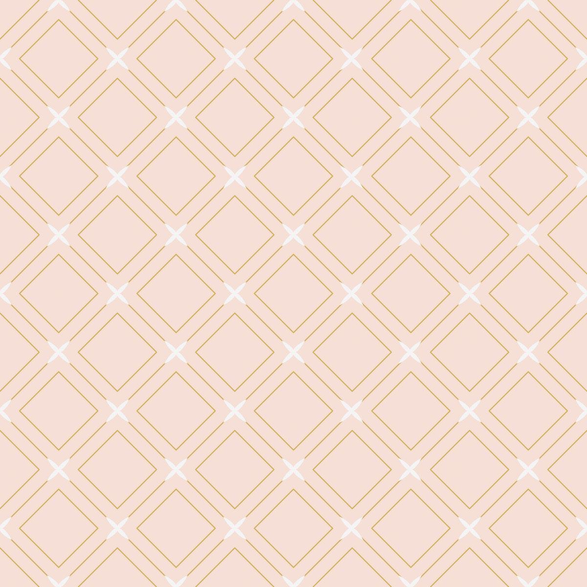 Seamless diamond pattern vector illustration