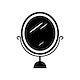 Black mirror icon cosmetics vector