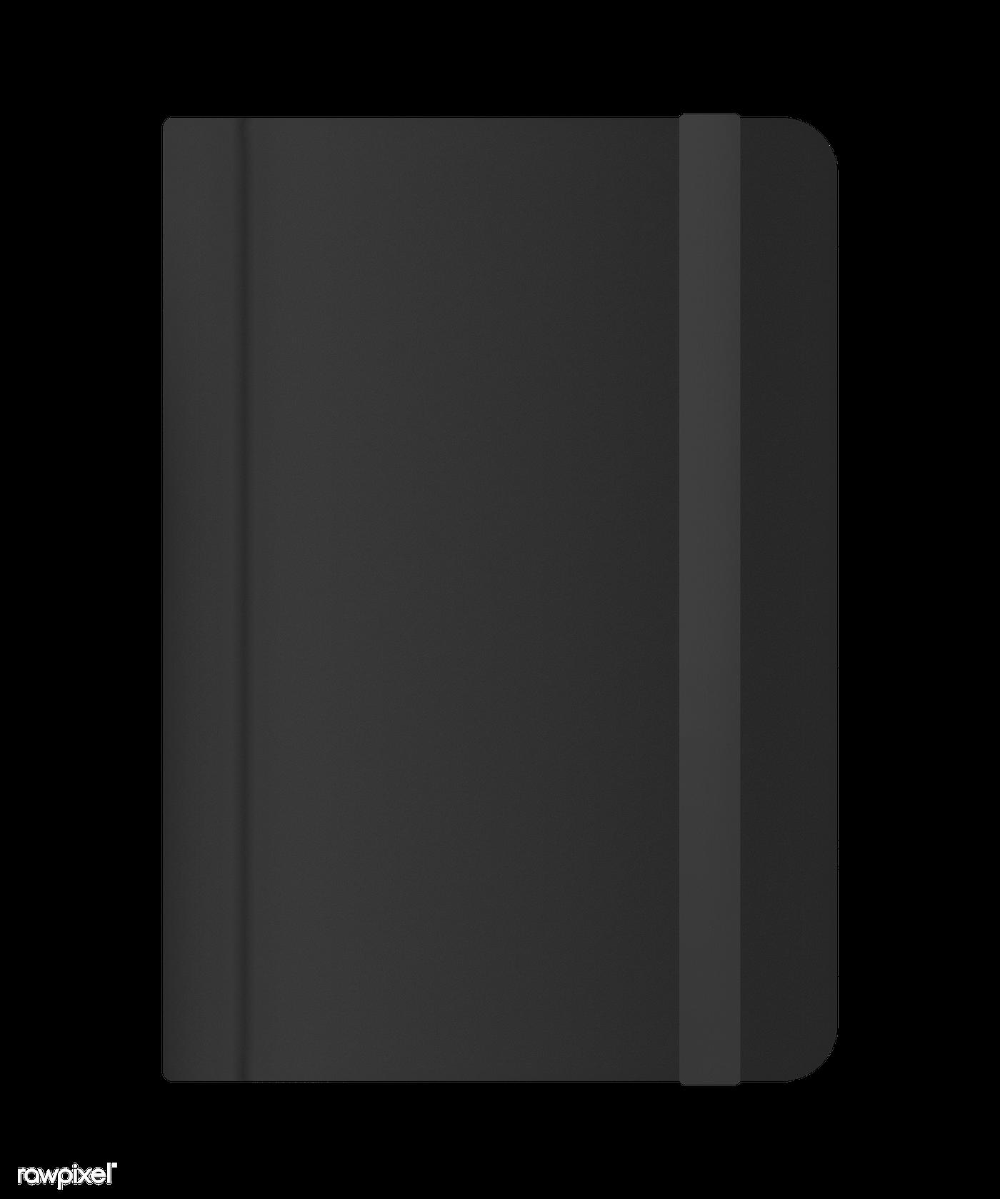 Download Premium Png Of Black Journal Cover Mockup Transparent Png 2026265