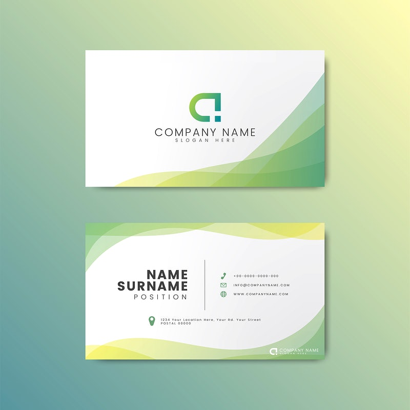 Name Card Design Template from img.rawpixel.com