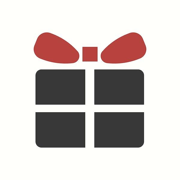 Christmas Gift Box Icon Decoration Icon Vector Free Vector 511608