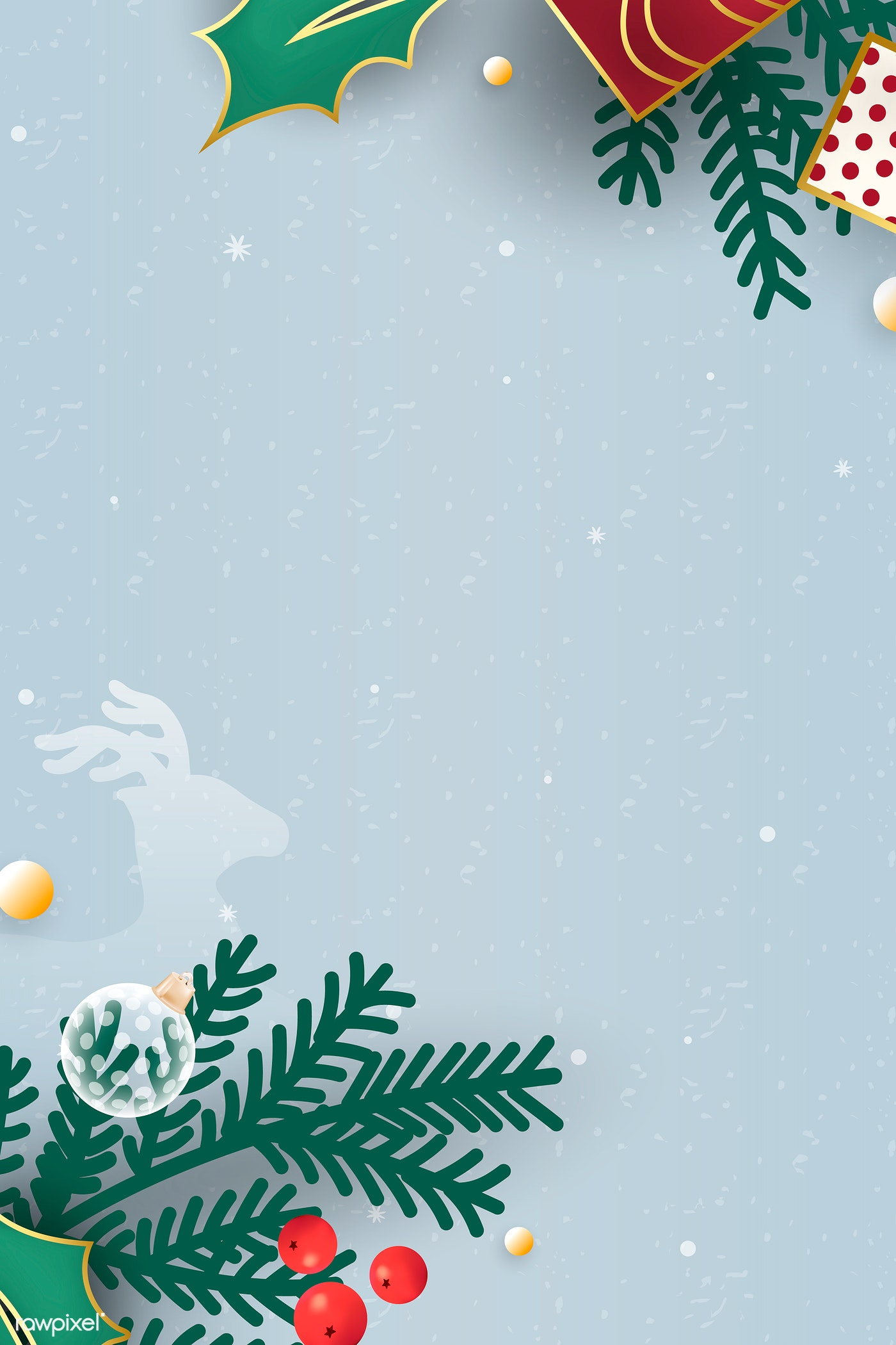 Christmas Background Theme Illustration Royalty Free