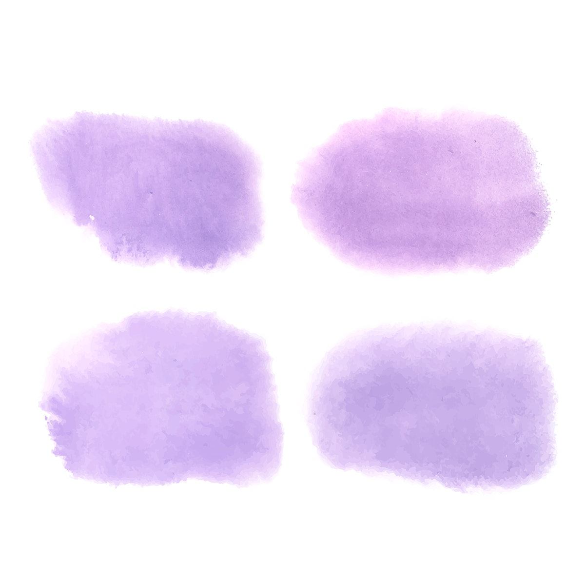 Purple watercolor style banner vector