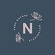 Pure nature logo design vector