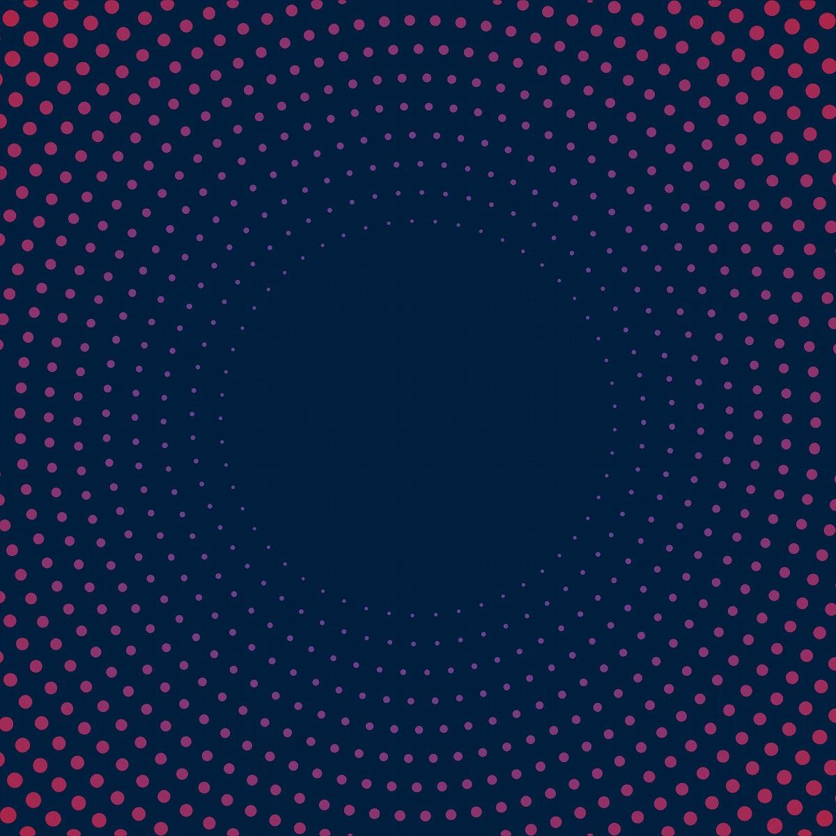 Navy gradient halftone background vector
