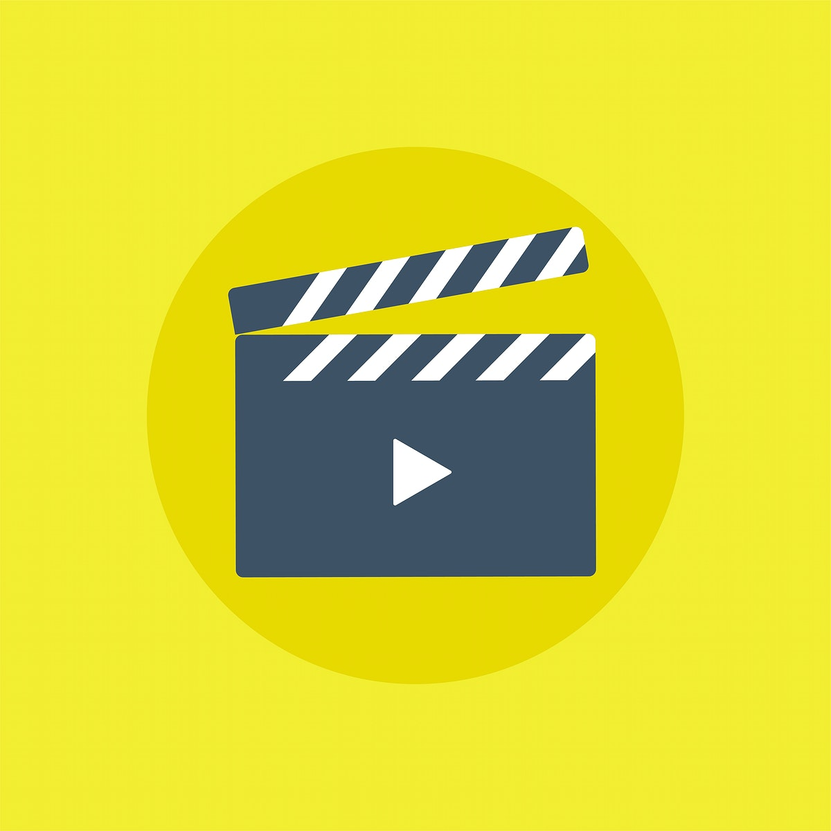 Vector of movie player icon