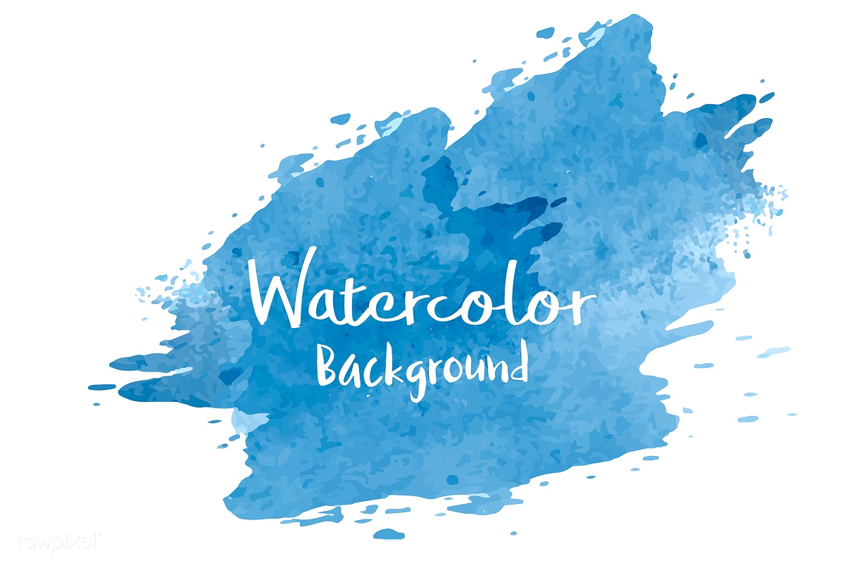 Download premium vector of Pastel blue watercolor background vector 540741