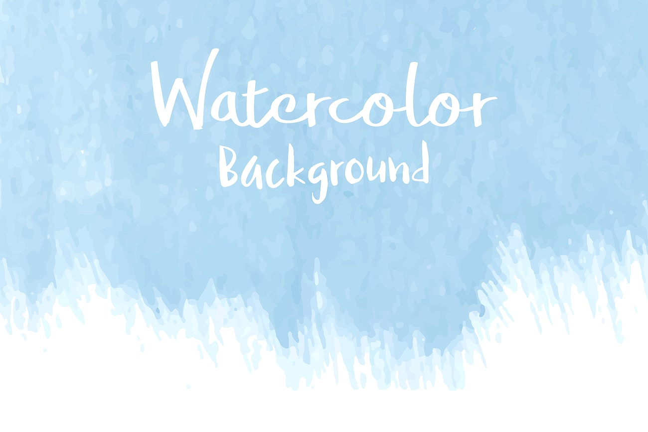 Pastel Blue Watercolor Background Vector Royalty Free Vector 540594