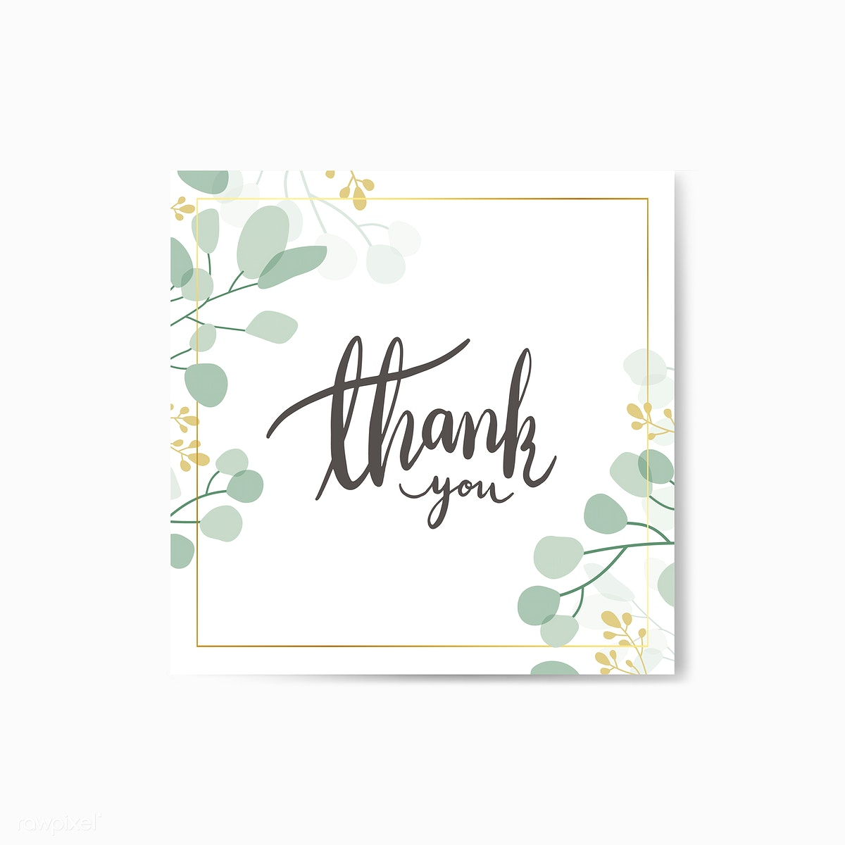 thank you card  royalty free stock illustration  545544