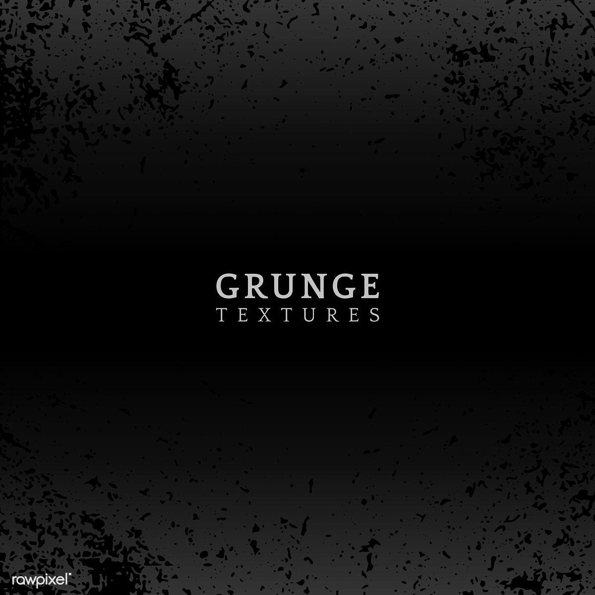 Black grunge distressed texture vector   Free stock
