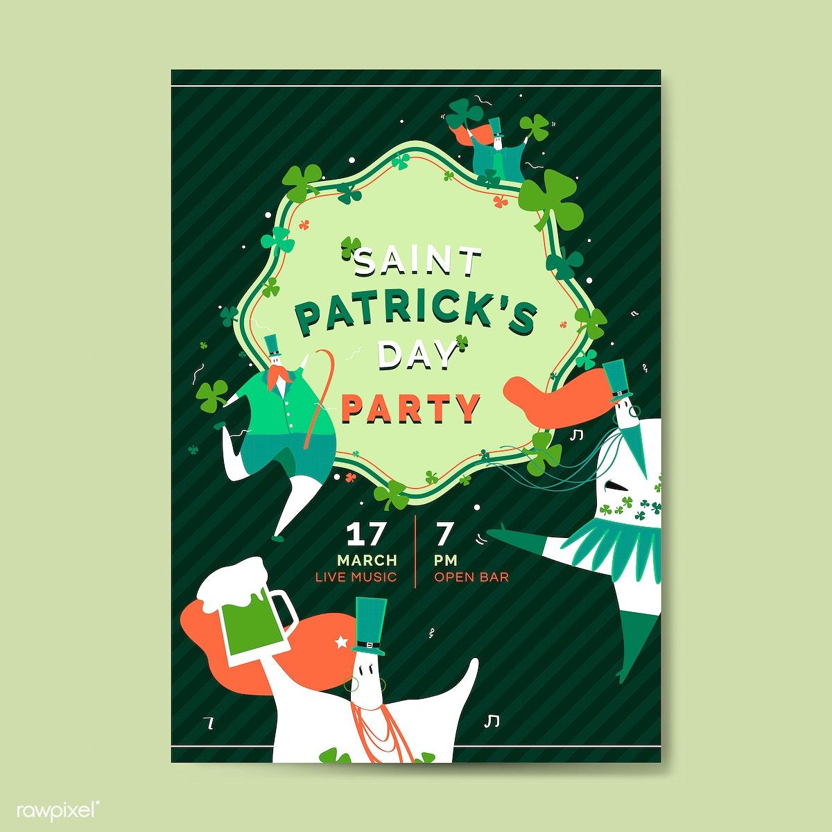693da3da St Patrick's day illustration | Free stock vector - 563496