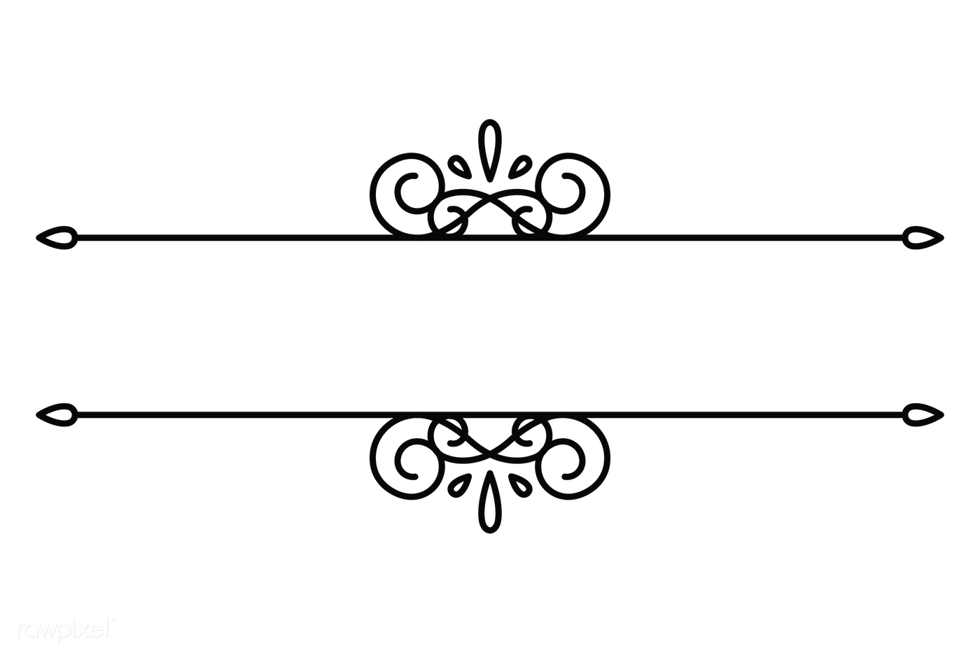 Classic dividers png | Royalty free transparent png - 2021383