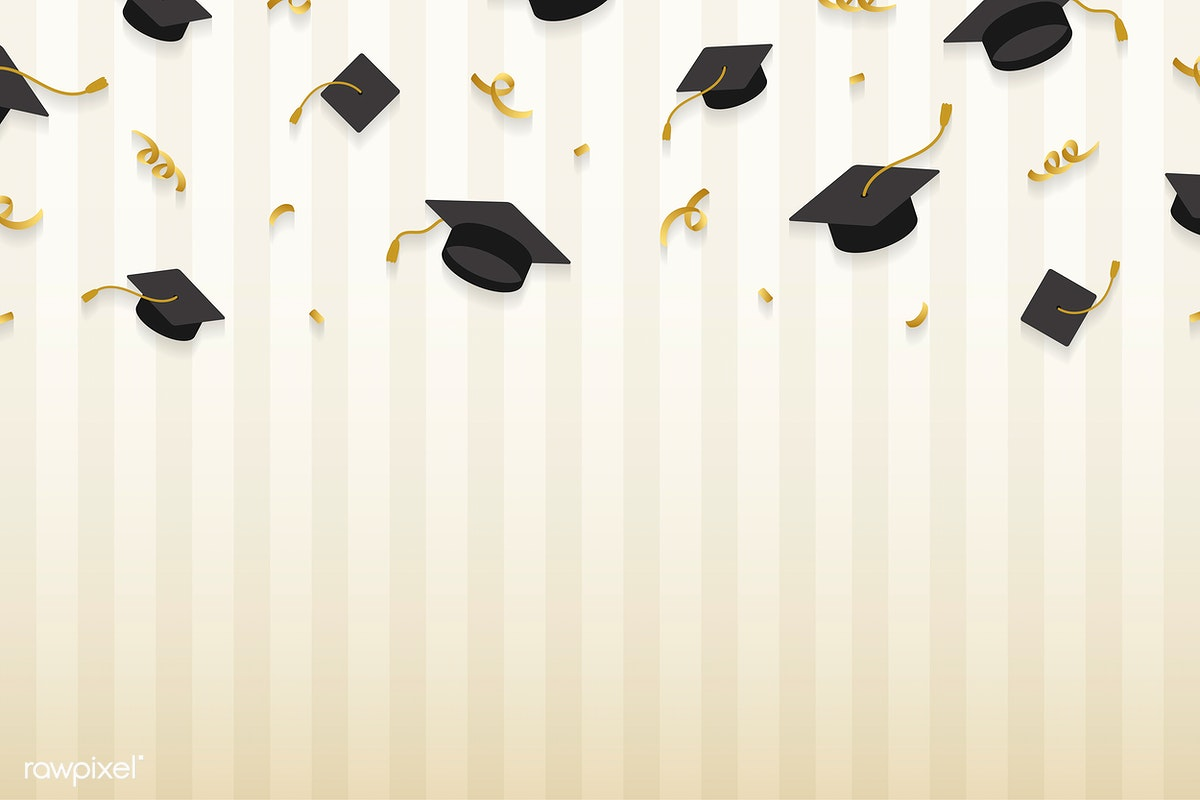 Graduation Hats Frame | Free Stock Vector - 575264