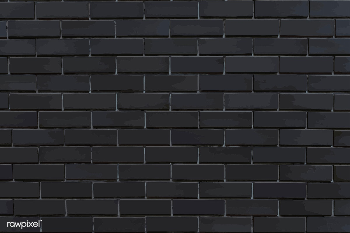 Brick Vector Picture Brick Veneers: Black Brick Wall Background