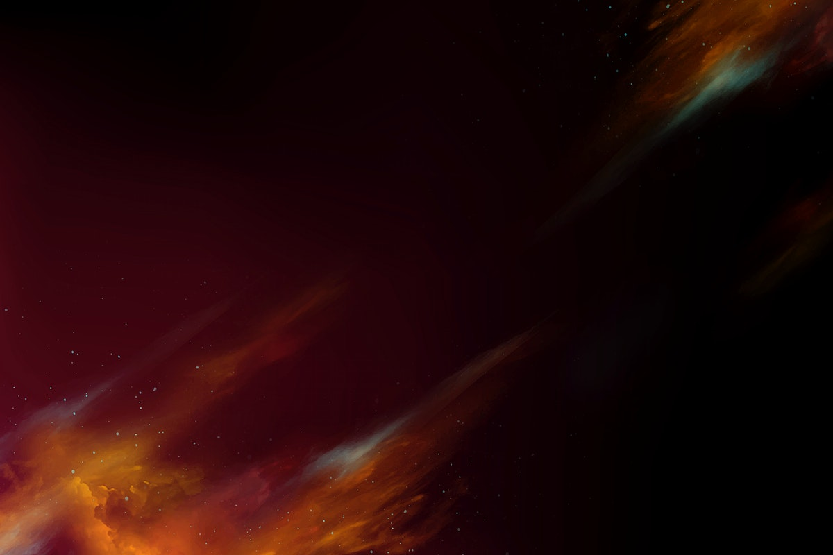 Colorful abstract nebula space background vector