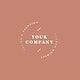 Company minimal logo design vector