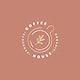 Coffee house minimal logo vector