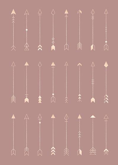 Arrow doodles set Royalty Free Stock Vectors | rawpixel
