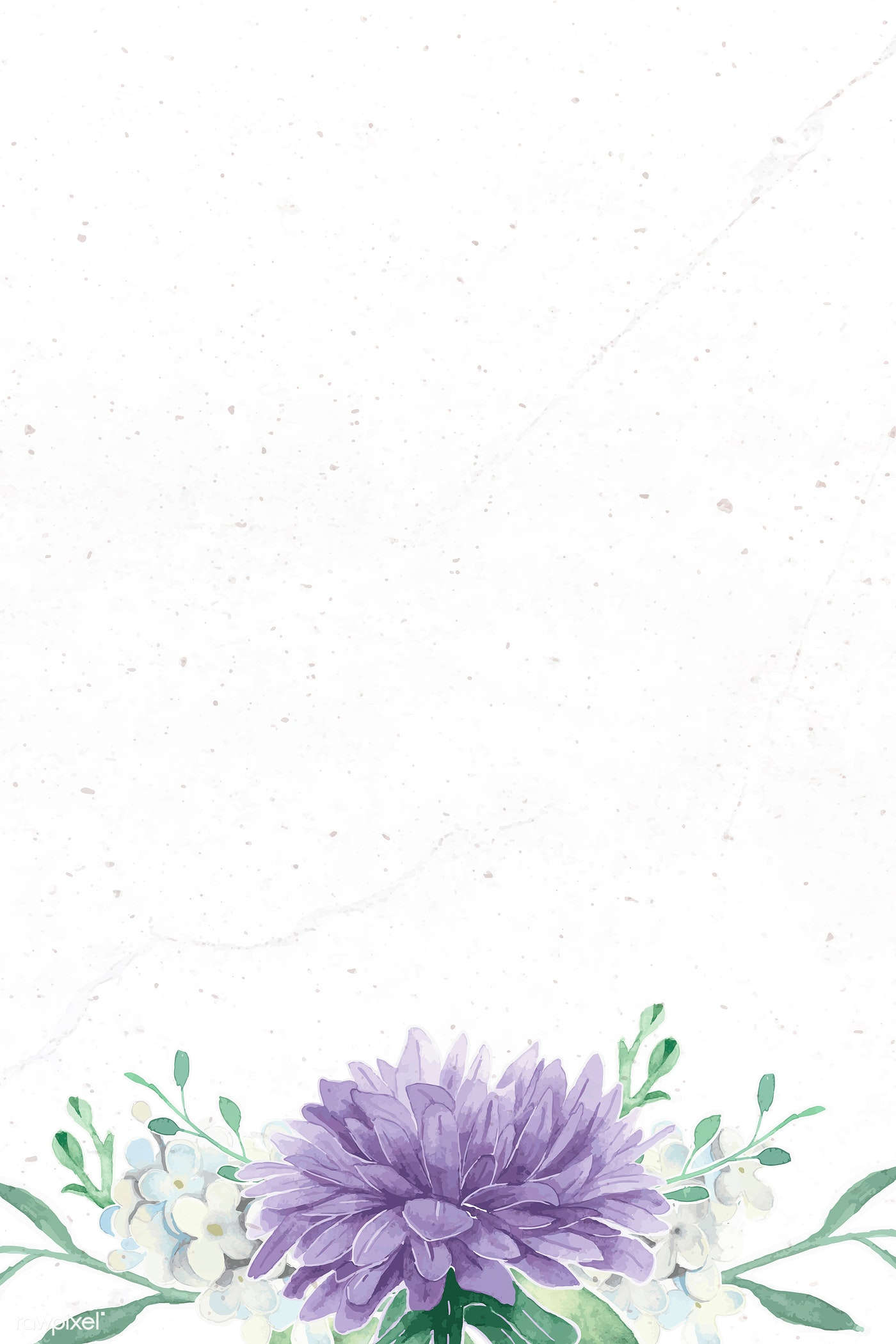 Purple Flower Border Royalty Free Vector 937080