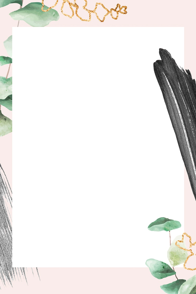 Eucalyptus leaf pattern background vector