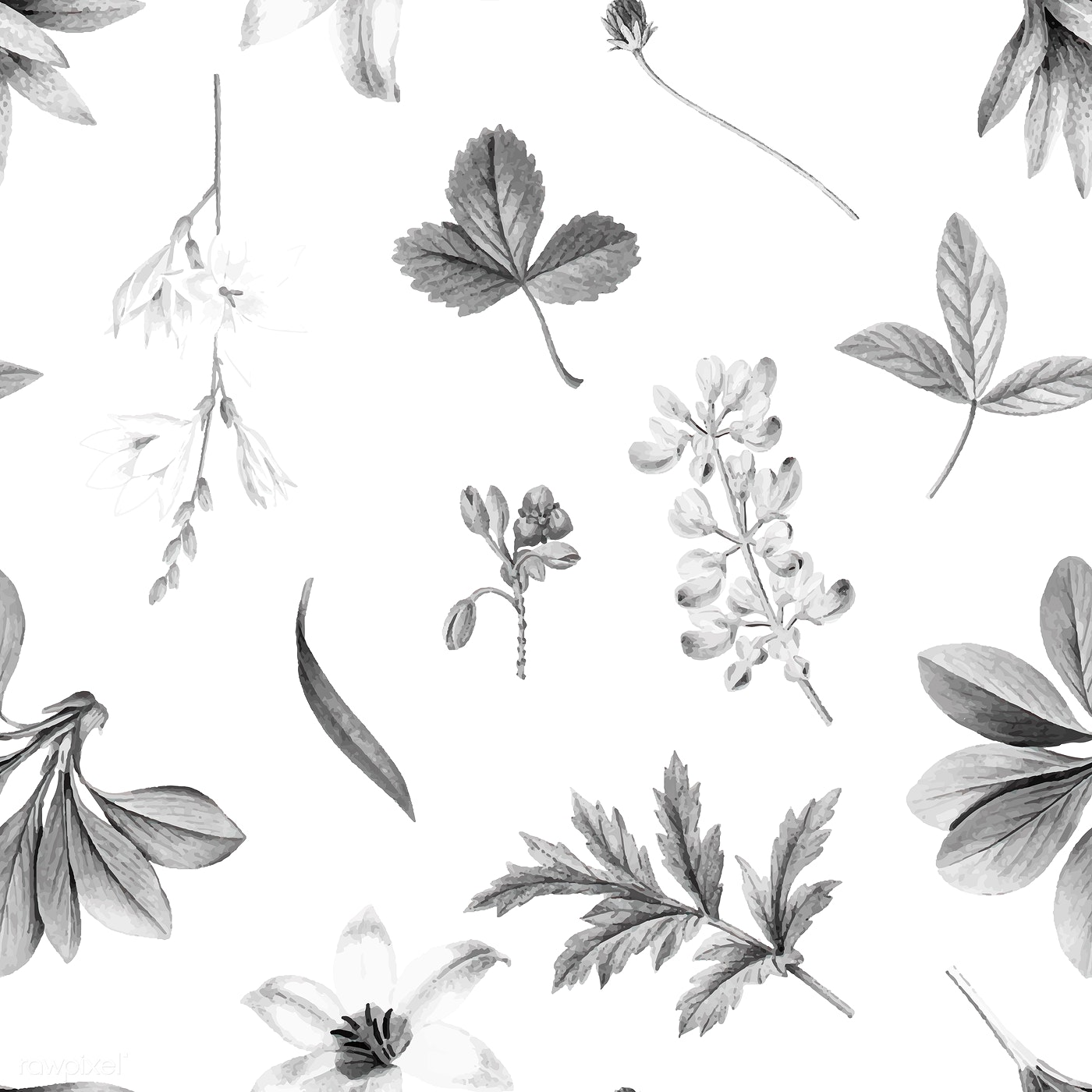 Floral Background Illustration Royalty Free Vector 1201146