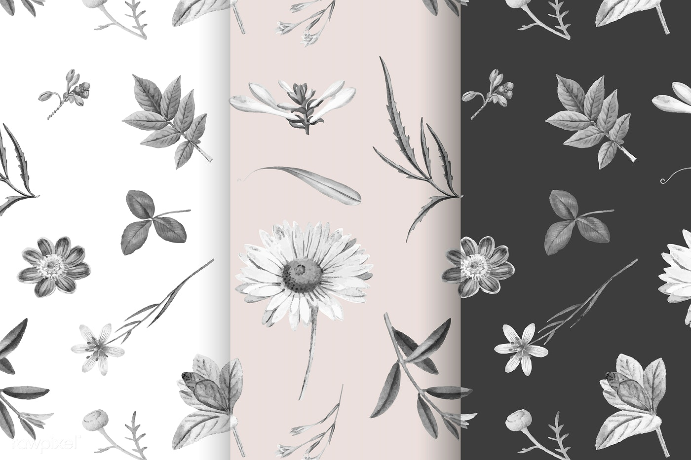 Floral Background Illustration Royalty Free Vector 1201118