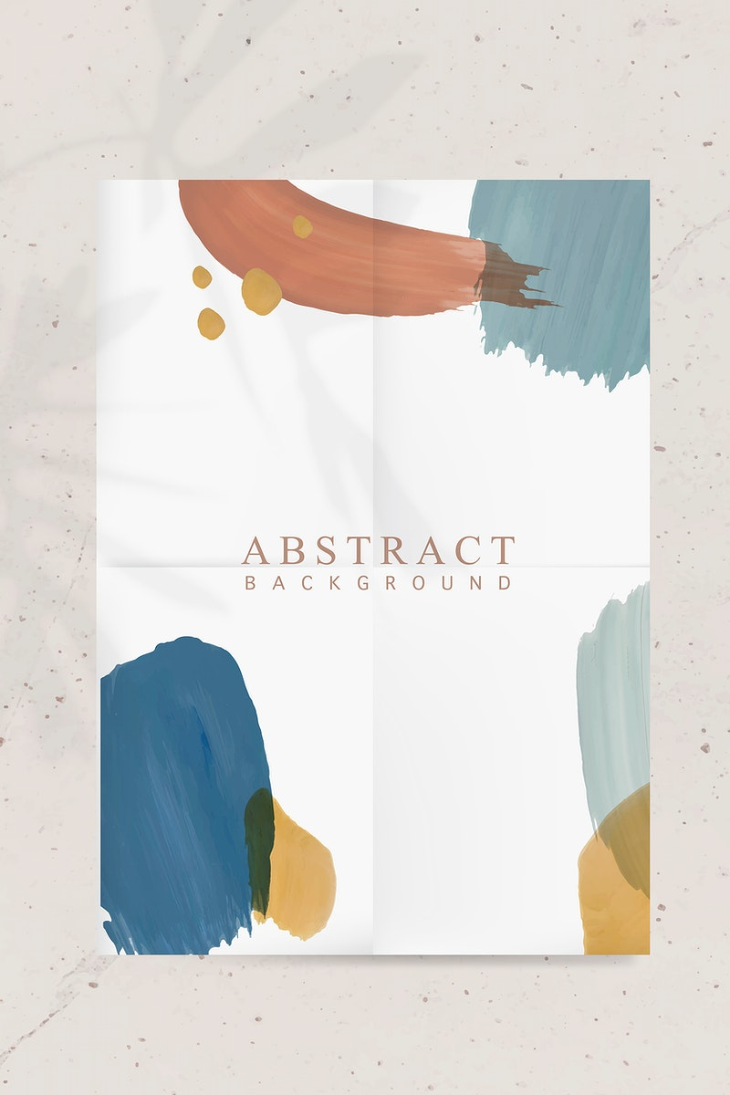 Colorful abstract background paper vector