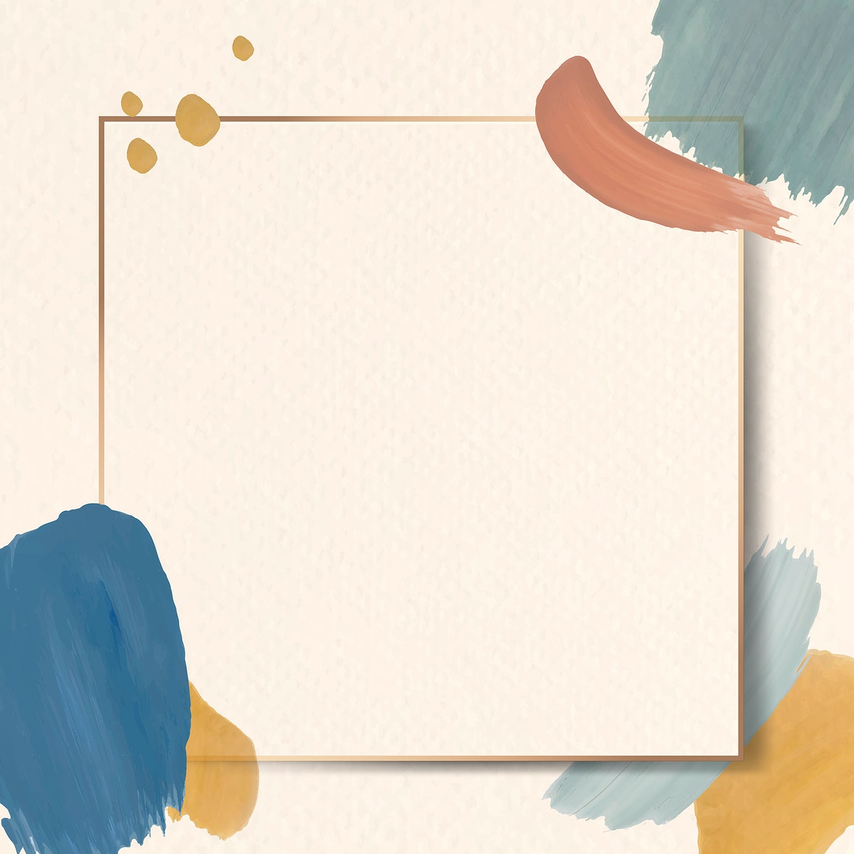 Colorful square frame on an abstract design element background vector