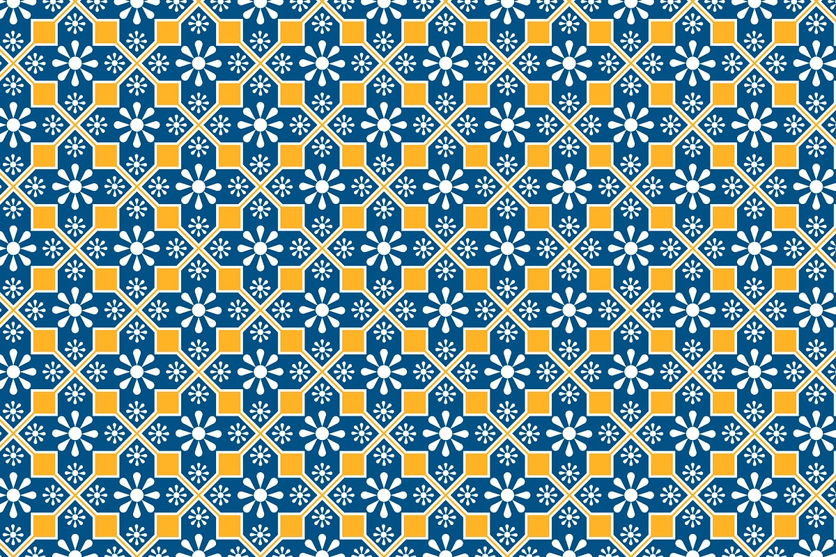 Indian floral seamless pattern background vector