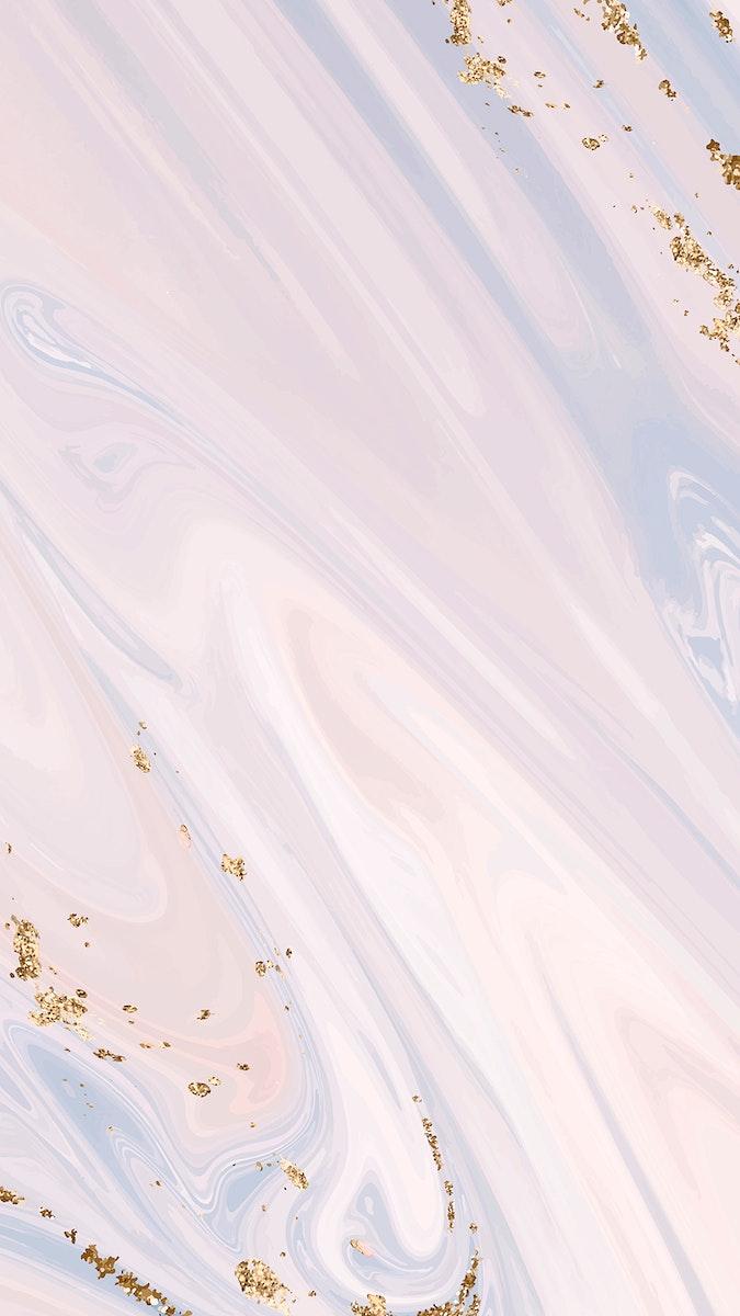 Pink fluid patterned background vector