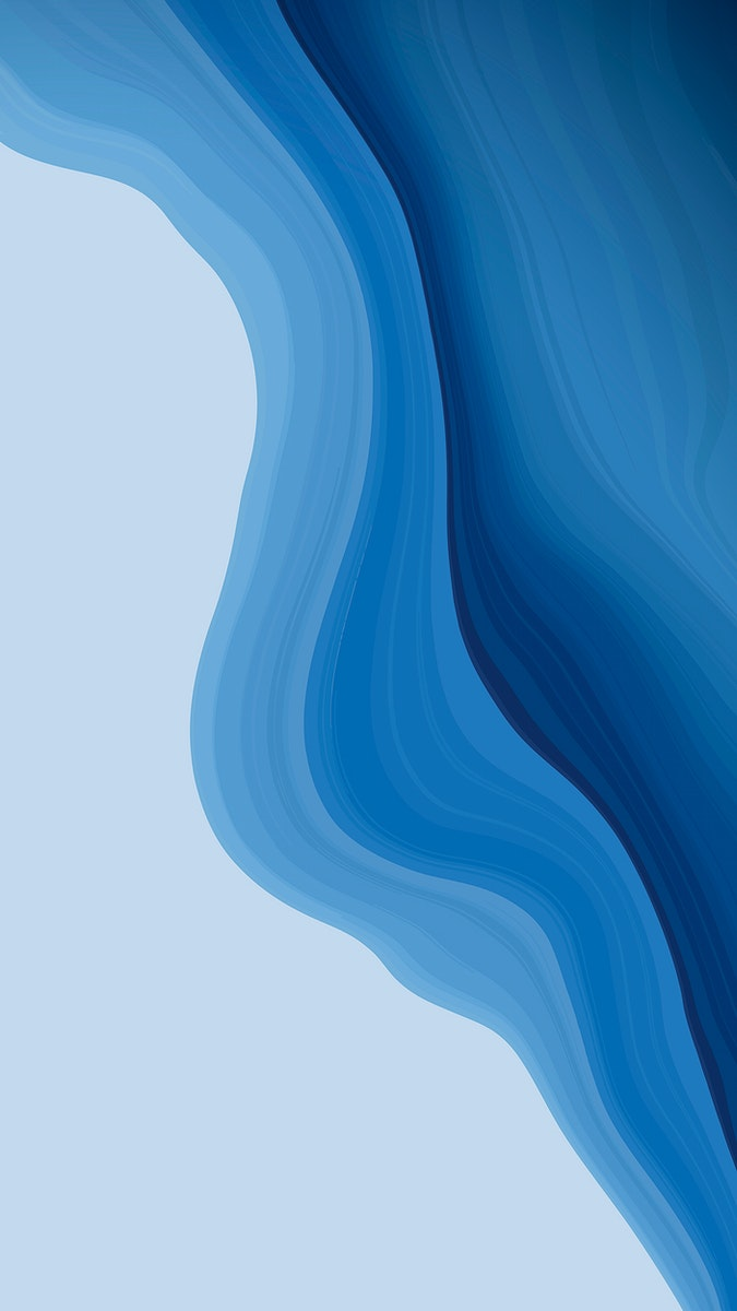 Blue fluid fluid patterned mobile phone wallpaper vector