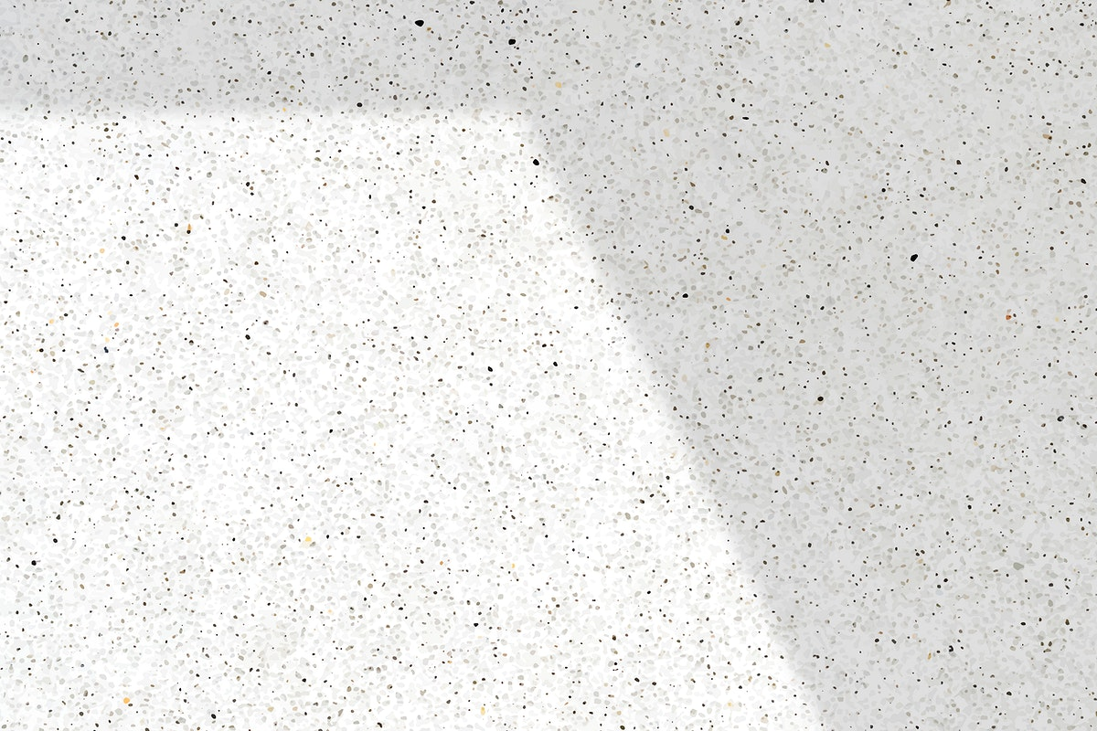 Shadow on white marble background vector