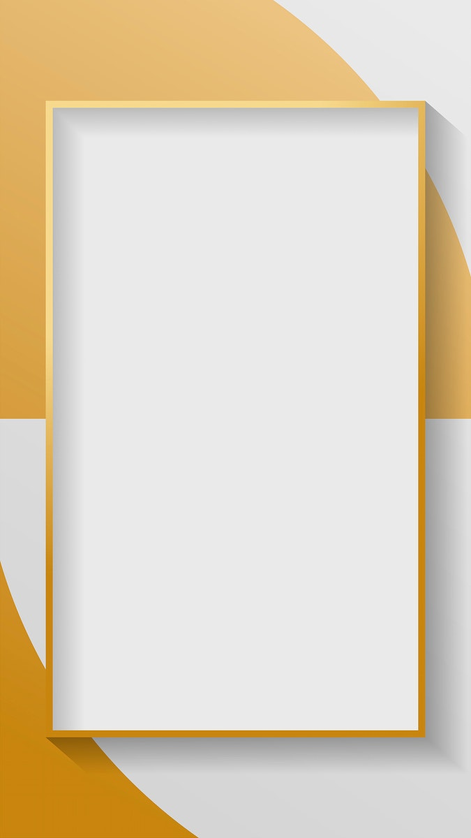 Blank rectangle abstract frame vector