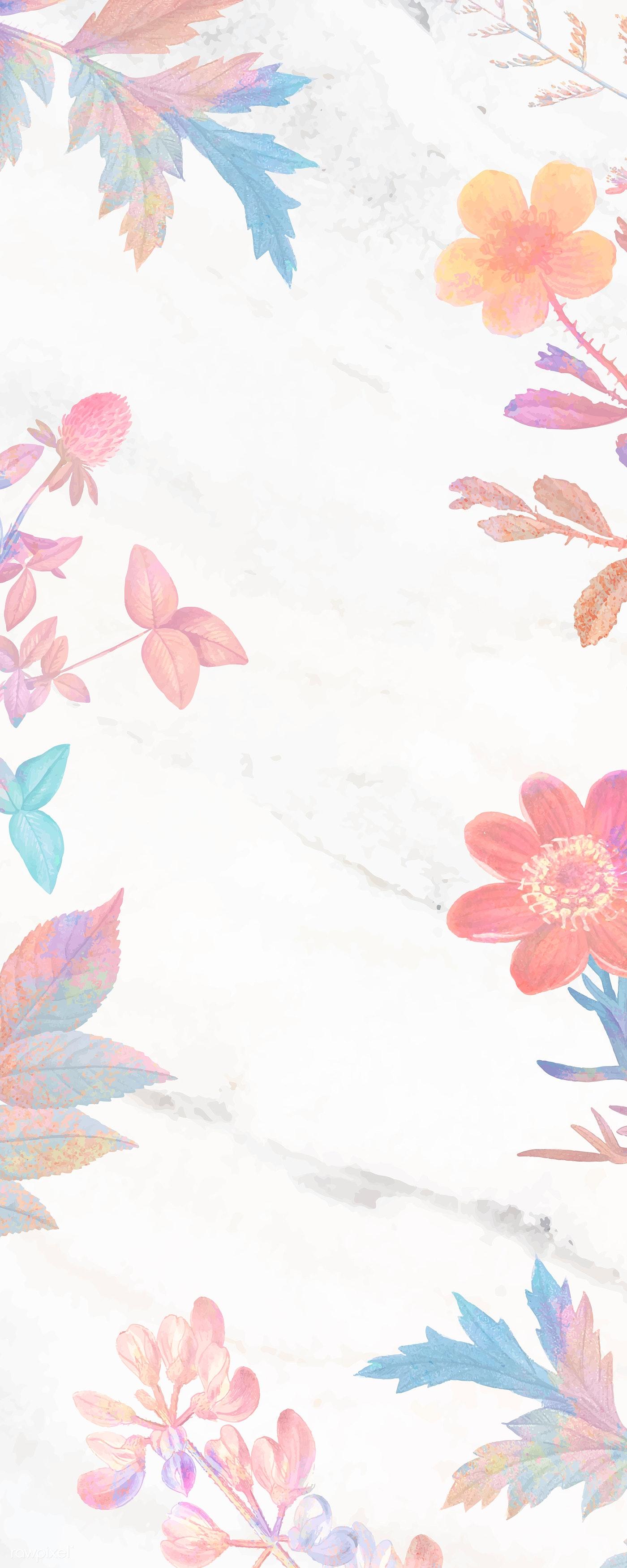 Pink Flower Pinterest Banner Royalty Free Stock Illustration
