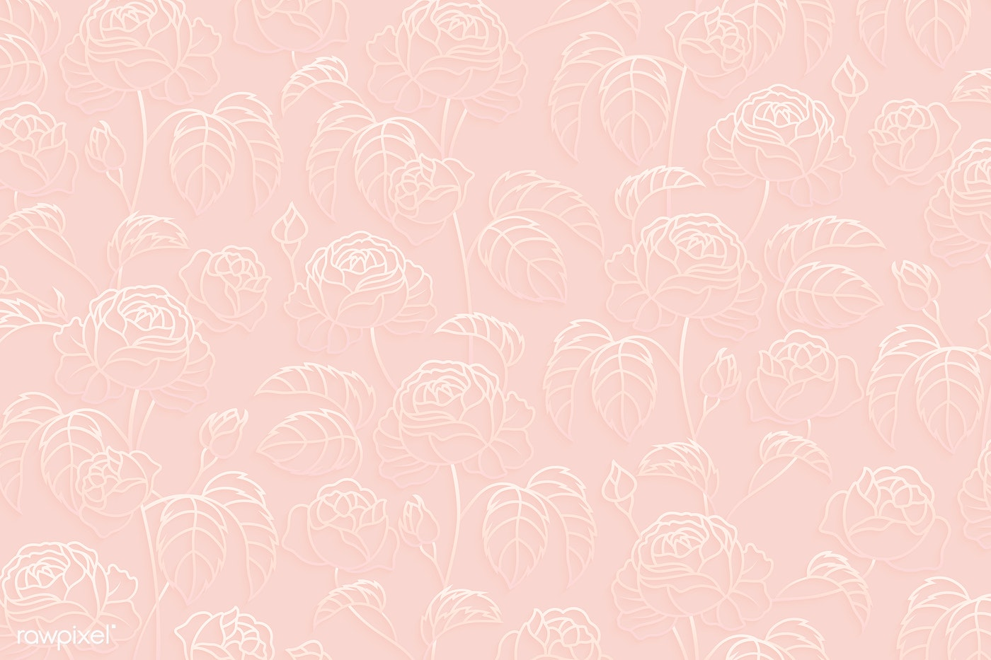Floral Patterned Background Royalty Free Vector 1218075