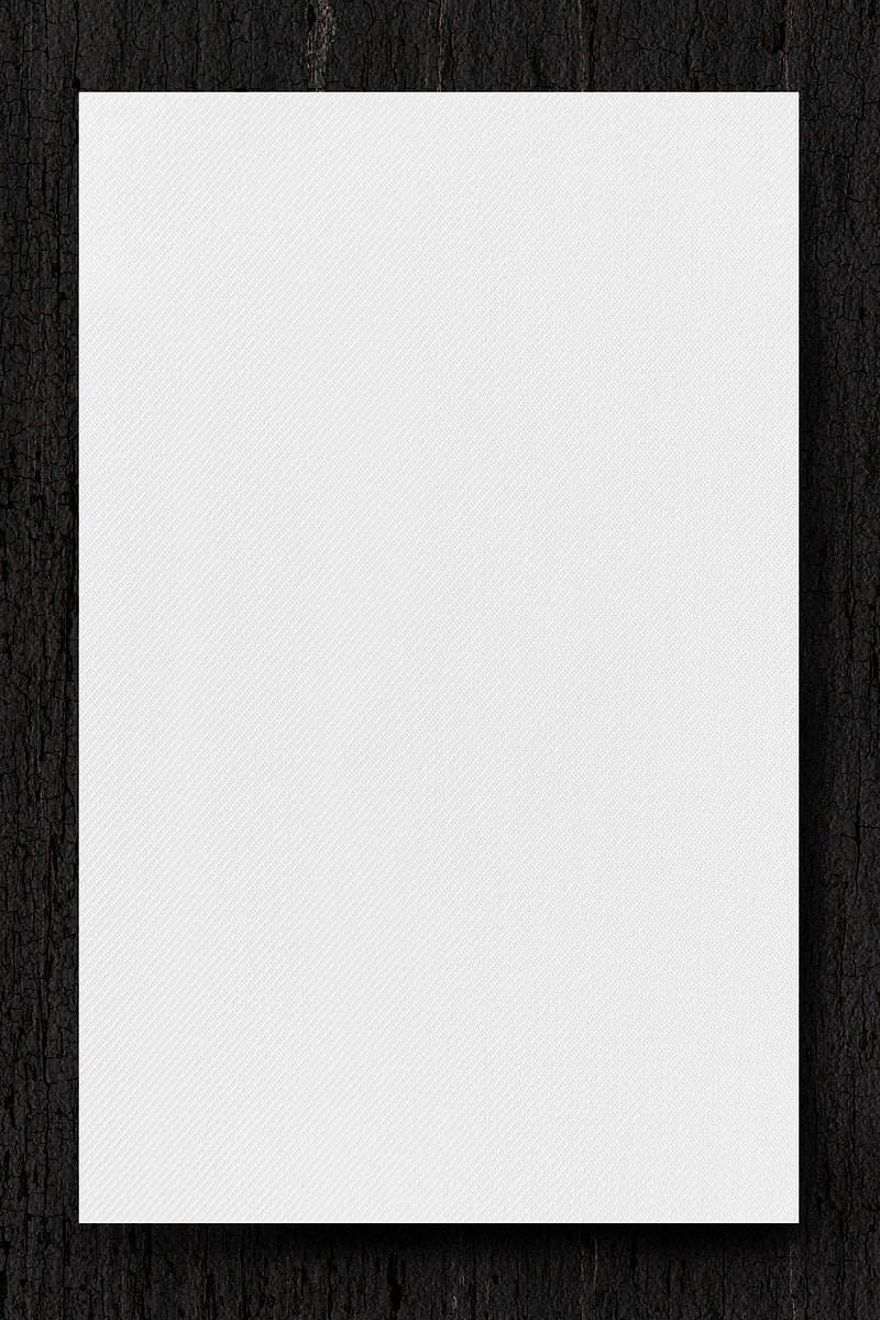Black marble frame on white background template vector