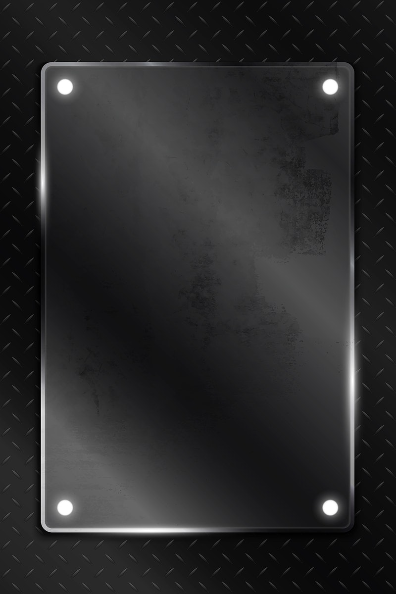 SImple black technology background template vector