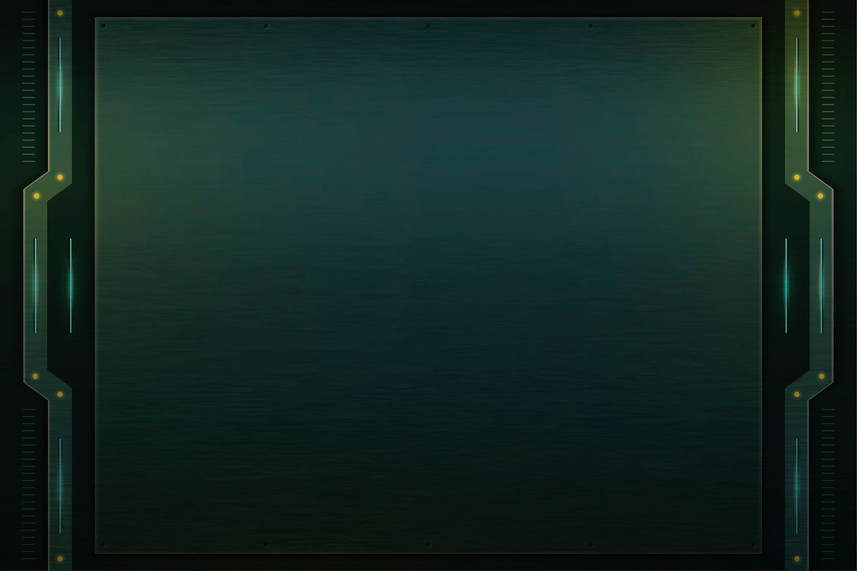 SImple green technology background template vector