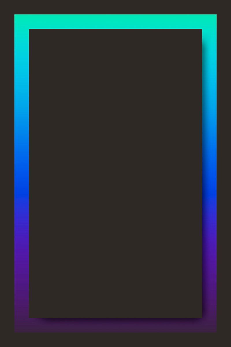 Blue and purple holographic pattern background vector